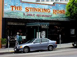 The Stinking Rose Restaurant in San Francisco North Beach