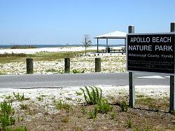 Entry To Apollo Beach Nature Park