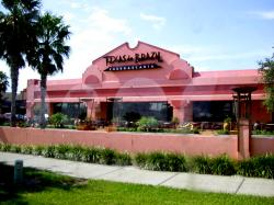 Orlando Dining Texas de Brazil Churrascaria - International Drive Orlando. This all-you-can-eat Brazilian steakhouse, or churrascaria, offers 15 different types of meat--including filet mignon, sausage and Brazilian picanha--plus a item salad area.