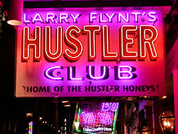 Larry flint hustler club new orleans