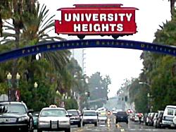 University Heights - Adams Avenue San Diego, California
