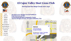 El Cajon Valley Host Lions Club