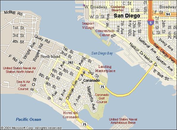 Coronado Map   compressportnederland