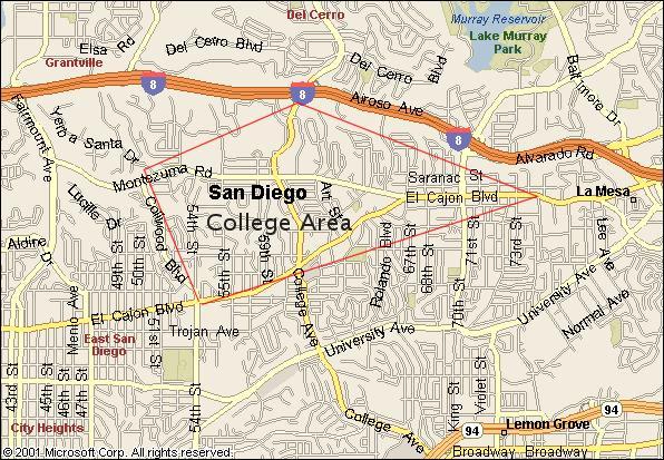 San Diego State University photo tour