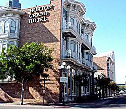 Outside The Horton Grand Hotel San Go Gaslamp Quarter