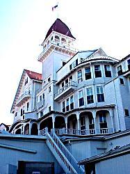 view of hotel del coronado