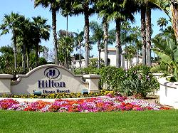 Hilton San Go Resort Rising Over Mission Bay In