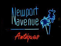 Newport Beach Antique Stores